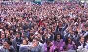 Milhares de pessoas vão ao festival Promessas, em São José dos Pinhais
