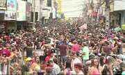 Prévias carnavalescas animaram a tarde do sábado (18) em Caruaru