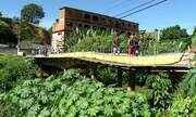 Moradores pedem reforma de ponte e fecham RJ-145, em Barra do Piraí