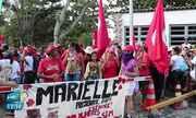 Grupo de mulheres do Movimento Sem Terra ocupa área da Chesf em Paulo Afonso