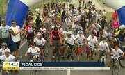 Pedal Kids é realizada em Campos, no RJ