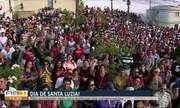 Dia de Santa Luzia é celebrado na manhã desta quinta-feira (13) em Caruaru