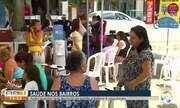TV Asa Branca realiza o 'Saúde nos Bairros'