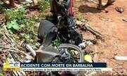 Acidente de trânsito deixa um morto e feridos em Barbalha, no Cariri