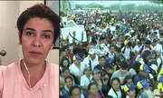 Maduro e opositores organizam shows diferentes para medir força e chamar atenção