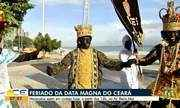 Maracatus saem em cortejo para comemorar a Data Magna do Ceará