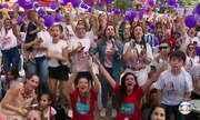 Em Sapiranga a festa é grande com as apresentações da gauchinha na final do The Voice Kids