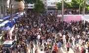 Estudantes fazem protesto na região de Sorocaba contra bloqueios de verba da educação