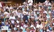 Fiéis estão na Arena Fonte Nova aguardando celebração em homenagem a Irmã Dulce