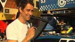 Marcello Antony mostra o universo de Gerson nas corridas de Stock Car