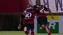 Os gols de Vitória 4 x 0 Ipatinga pela 4ª rodada da Série B do Brasileirão 2012