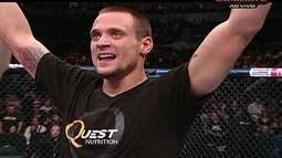 James Krause vence Sam Stout pelos pesos-leves do UFC 161