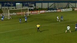 Gol do Icasa! Roberto aproveita e diminui para o Verdão!