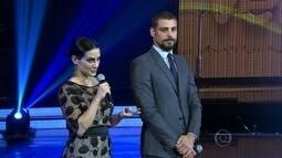 Cauã Reymond e Cléo Pires apresentam O Caçador