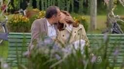 Helena e Virgílio vivem clima de romance em Paris