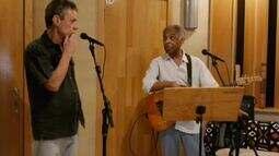 Chico Buarque e Gilberto Gil falam sobre trilha de 'Rio, eu te amo'