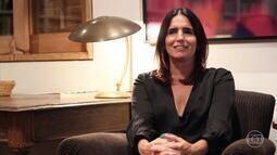 Malu Mader relembra professora que marcou sua vida