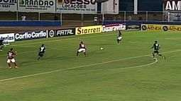 Busatto salva novamente o Icasa, desta vez aos 38 minutos