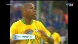 Robinho diz que situação do futebol brasileiro não é desesperadora e admite sondagens