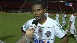 """Rayro fala sobre classificação do Asa na Copa do Brasil: """"Momento especial para o clube"""""""