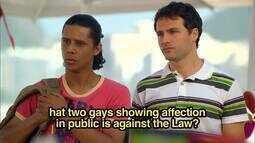 Insensato Coração - Homofobia