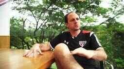 Ceni: Extras - Goleiro diz que quer ficar 45 dias parado para curtir a aposentadoria