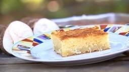 Reveja: Bolo de mandioca, um clássico da cozinha caipira