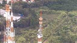 Novos transmissor e antena aumentam a cobertura digital da TV Globo Minas