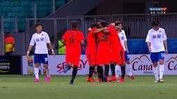 Os gols de Vitória 5 x 1 Tianjin Quanjian por amistoso internacional