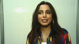 Anitta sobre fantasia de Carnaval: 'Vou bem diva. Bem dourada!'