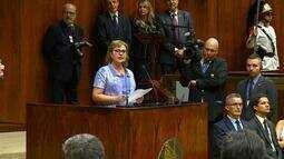 Silvana Covatti é a primeira deputada a presidir a Assembleia Legislativa