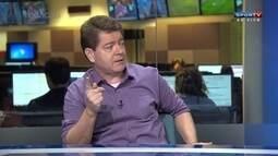 """Evaldo José acha que a torcida exagera ao """"pegar no pé"""" do zagueiro Wallace"""