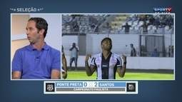 Caio destaca ótimo momento vivido por Gabigol no Santos