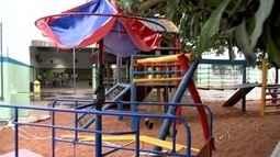 Criança que sofreu acidente em brinquedo de escola continua internada na UTI