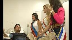 Em gesto solidário, rainhas do Carnaval do Pará doam sangue no Hemopa nesta sexta (5)