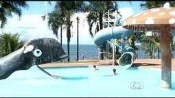 Cidade de São Simão se prepara para receber turistas durante feriado, em Goiás