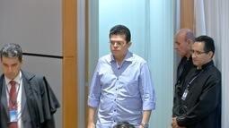 Prefeito afastado Gilmar Olarte é interrogado no processo sobre agiotagem em Campo Grande
