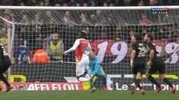 O gol de Monaco 1 x 0 Nice pela 25ª rodada do Campeonato Francês