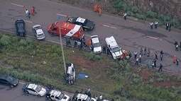 Três carros da PM de Brasília se envolvem em acidentes em menos de 24 horas