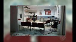 Agência bancária do Bradesco em São Geraldo de Araguaia é assaltada