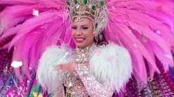 Layza Santiago, da Mangueira, é a campeã do Musa do Carnaval 2016