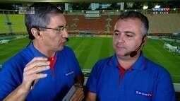 Reinaldo Porto diz que São Paulo desfilou no segundo tempo contra o Água Santa