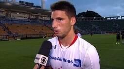 Calleri diz que ainda está se adaptando ao futebol brasileiro