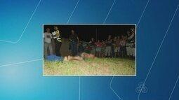 Filho é preso suspeito de matar o próprio pai a golpes de terçado