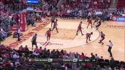 Confira os melhores momentos de Portland Trail Blazers 96 x 79 Houston Rockets pela NBA