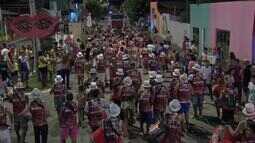 Blocos tomam as ruas em carnaval de rua em Santo Antônio do Leverger