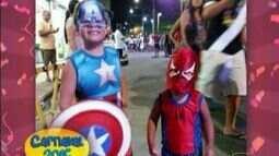 Telespectadores enviam fotos de foliões no carnaval