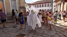 Diamantina tem carnaval animado