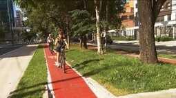 Código de Trânsito estabelece regras para ciclistas andarem com segurança