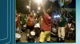 Grupo Afro Zumba agita o carnaval de Guriri, no Norte do ES